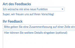 Supportbereich small